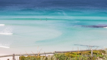 perfect wave on Surf Spot in Esperance West Beach