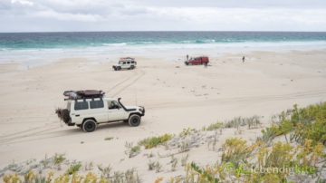 Beach driving and Rescue in Australia, Tipps for beach driving and soft sand in Australia