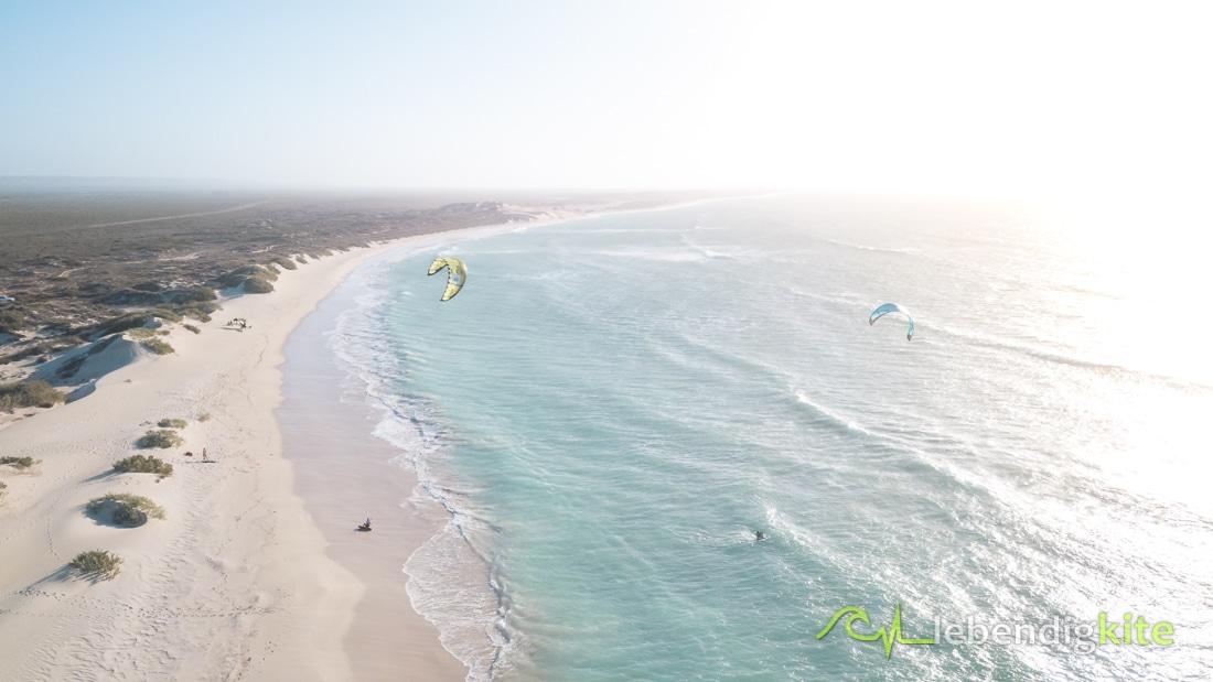 beaches Exmouth Western Australia kitesurfing