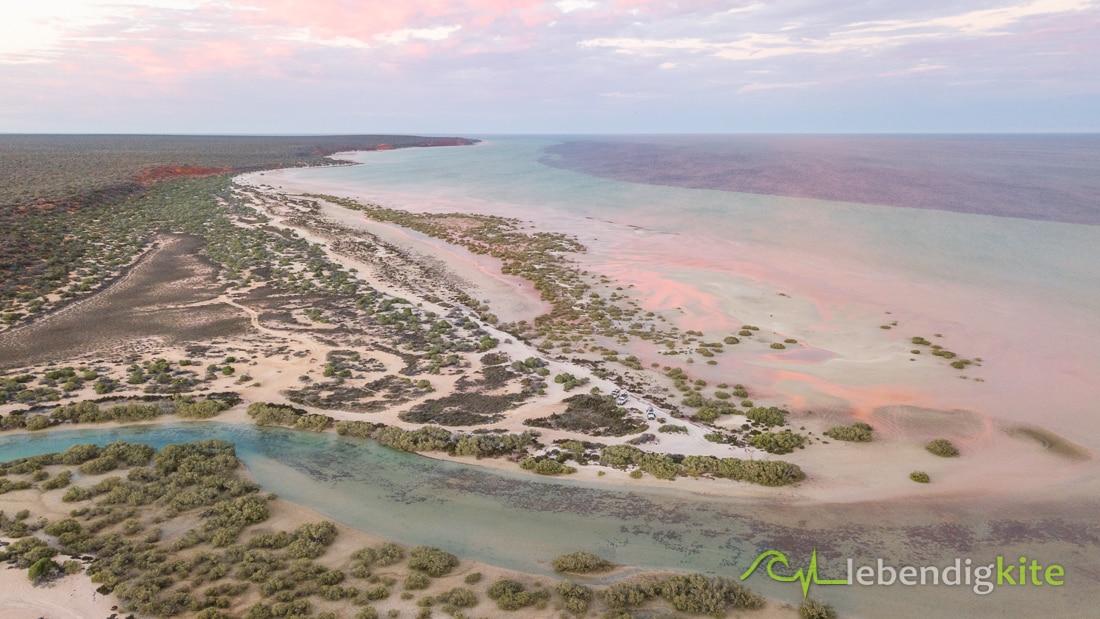 Nature landscape Western Australia sunset
