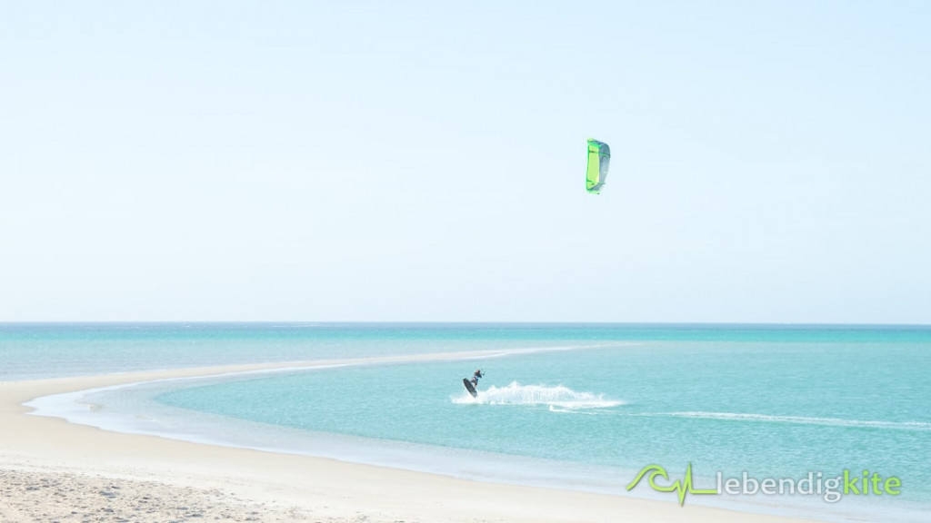 Kitesurfing holiday destination in winter