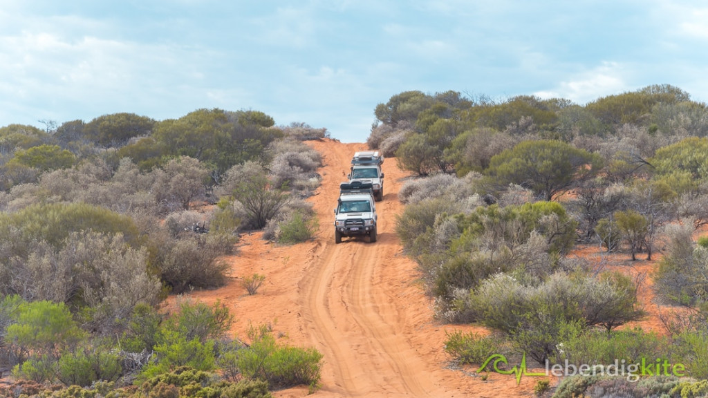 Offroad Track Australia Red Sand Dessert Outback