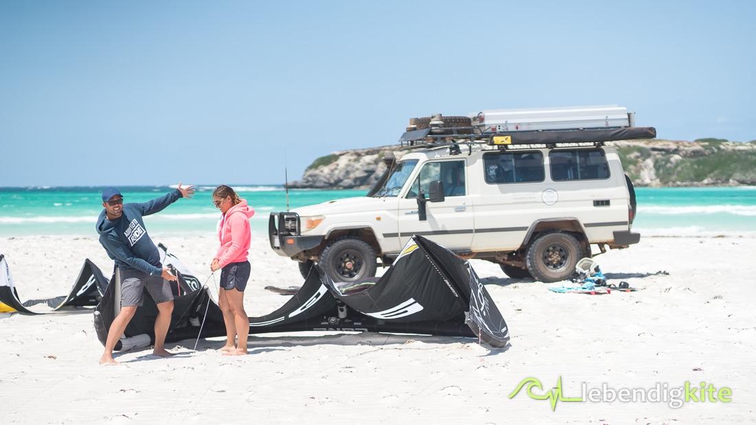Offroad Kite tour Australia