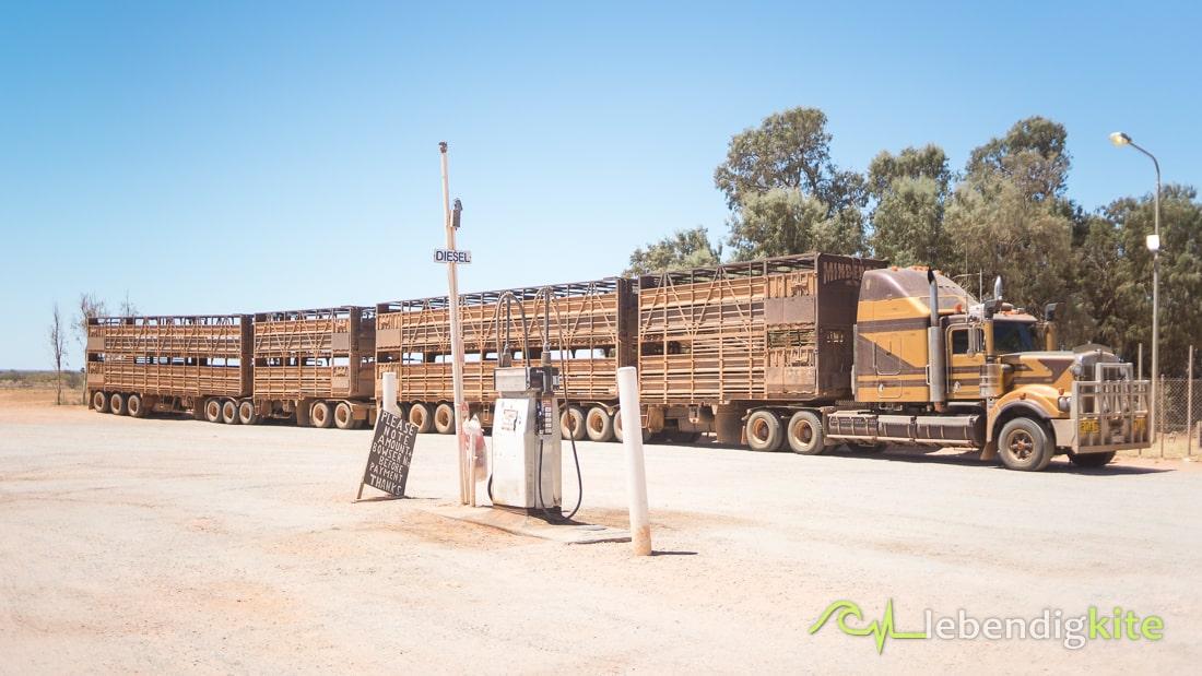 Outback Roadtrain Australia