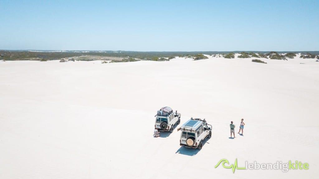 4WD Offroad in den Dünen Lancelin