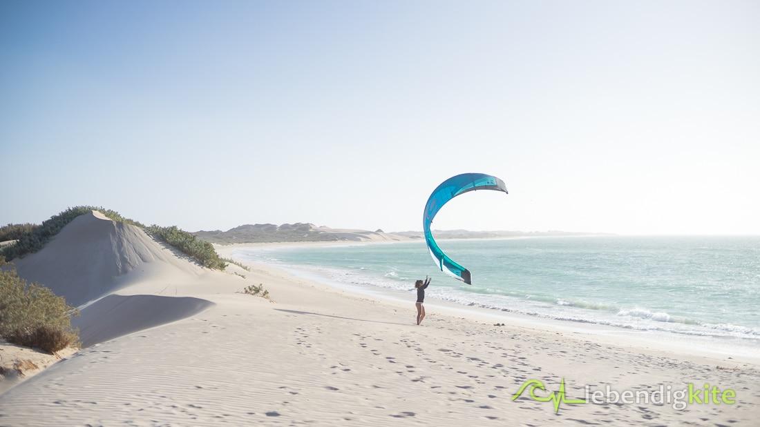 schönsten Strände Exmouth Kitespots