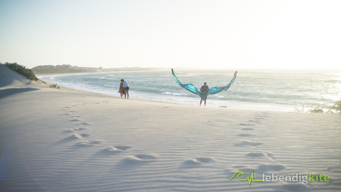 Kiteschule Kitespots Kitesurfen Exmouth