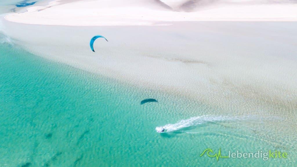 Kitesurfen im Dezember