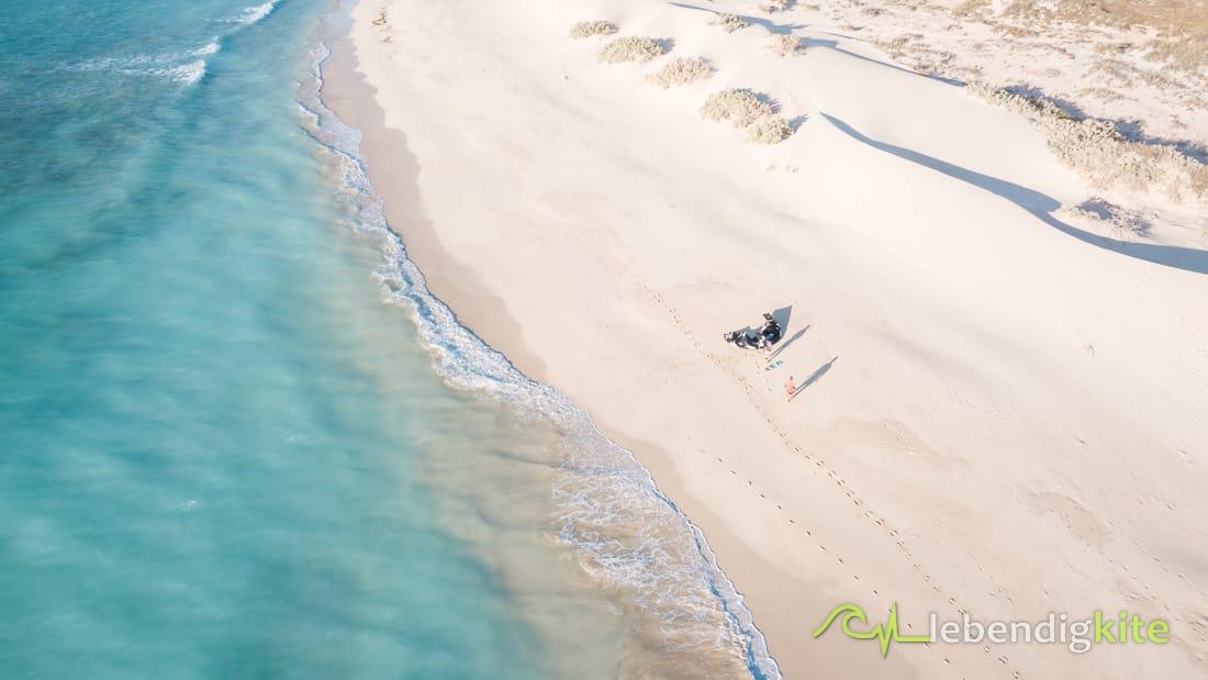 die besten Kitespots Exmouth Westaustralien Spotguide