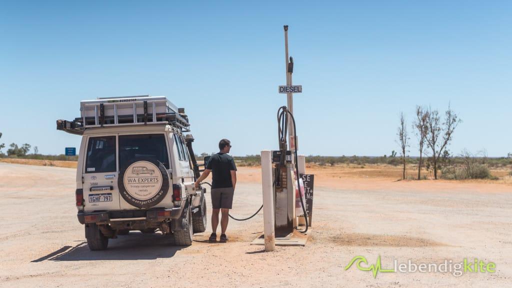 Australien Outback Roadhouse