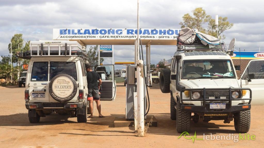 Billabong Roadhouse Australien