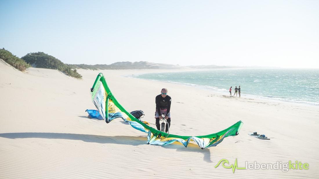 einsame Kitespots in Australien Kitesafari
