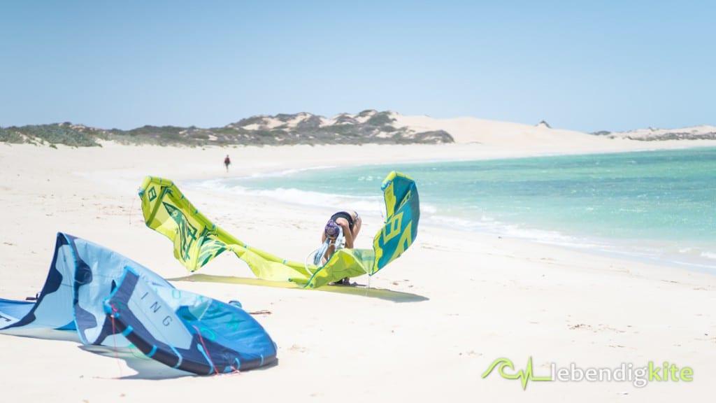 lebendigkite Kitereisen in Australien Kitesurfen
