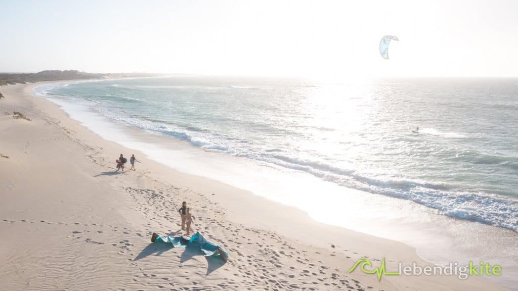 Kitesurfen Exmouth Kiteschule Kitesurfen lernen